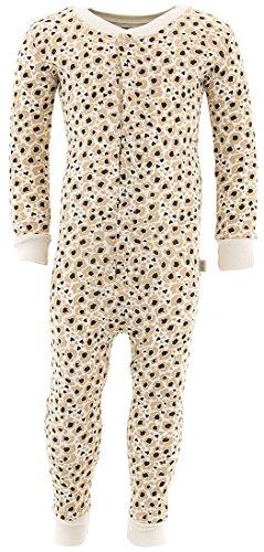 Duck Duck Goose Little Girls' Leopard Cotton One-Piece Pajamas (Little Goose Girl)