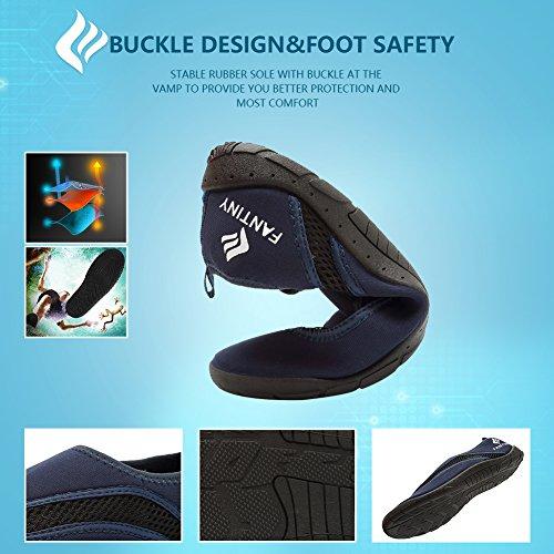 para mujer natación rápido CIOR de surf y playa 3azul piscina para Zapatos barco marino hombre secado 0wp7q18w