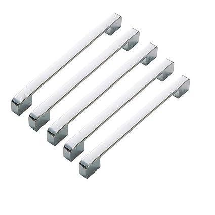 5 manijas de acero inoxidable y aleación de zinc para ...