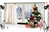 LB 9x6ft Christmas Gift Vinyl Photography Backdrop Customized Photo Background Studio Prop DB189
