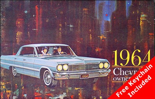 (1964 Chevrolet Car Owners Manual (with Key Chain))