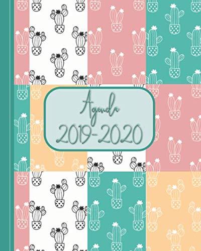 Agenda 2019-2020: (SPANISH) Hermosa Agenda sin fecha con versículos bíblicos semanales