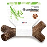 Benebone Maplestick Real Wood Durable Dog Stick Chew Toy, Made in USA, Large