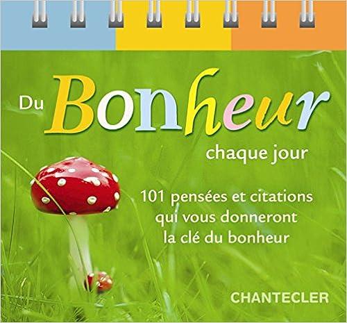 Téléchargement Du bonheur chaque jour pdf ebook