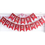 My Mind's Eye HYP407 Holiday Merry Christmas Letter Banner, 8 Feet Long