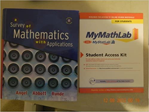 Survey of mathematics with applications, a (8th edition.