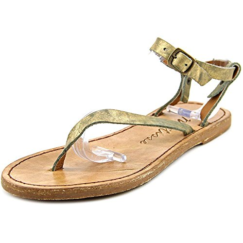Matisse Women's Greek Light Gold Sandal 7 M Matisse Leather Thongs