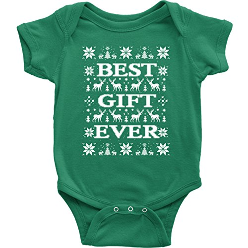 best gift ever christmas onesie ugly christmas vacation bodysuit christmas ugly sweater style for toddler coolest newborn christmas gift - Christmas Vacation Onesie