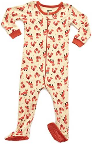 Leveret Baby Boys Girls Footed Sleeper Pajama 100% Cotton (Size 6M-5 Years)