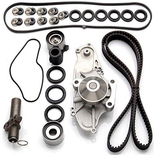 ECCPP Timing Belt Valve Cover Gasket Water Pump Kit Fits Honda Acura 3.2L 3.5L SOHC 24 Valve 052706-5211-1525041