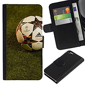 Stuss Case / Funda Carcasa PU de Cuero - Fútbol Fútbol - Apple Iphone 6