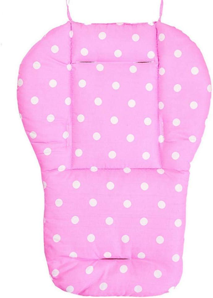 Breathable Cotton Stroller Pads Seat Barley33 Pushchair Mat,Baby Stroller Pram Pushchair Universal Seat Liners