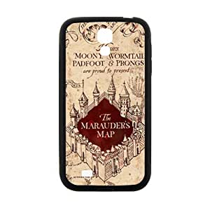 Happy Harry Potter Marauder's Map Cell Phone Case for Samsung Galaxy S4
