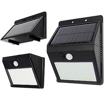YNEQHOSJB Luz Solar: Sensor de Cuerpo Humano, Impermeable, Interior, jardín, Exterior