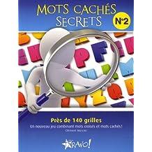 Mots cachés secrets - Nº 2: Près de 140 grilles