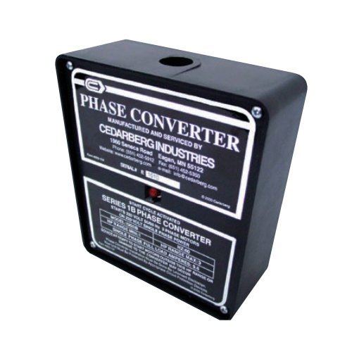 Image of Circular Connectors Cedarberg Industries 8000-102 Mod 1300B Phase Converter, 1-3 hp