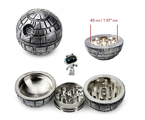 Gimmick-Star-Wars-Death-Star-Weed-Tobacco-Spice-Herb-Grinder-Aluminum-3-piece-55mm-21-Inch-Perfect-Present-With-Free-Gift-Box