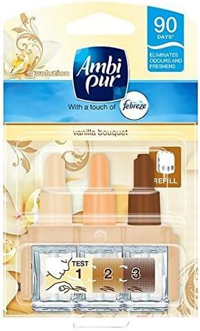 Ambi Pur 3volution Lufterfrischer Vanille Bouquet Plug In Refill 20ml Küche Haushalt