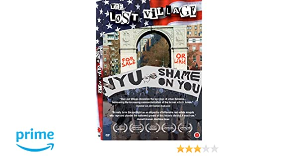 Amazon.com: The Lost Village: Judith Malina, Mark Crispin Miller, George Capsis, Anthony Gronowicz, Michael Hudson, Sharon Wooulms, Roger Paradiso: Movies & ...