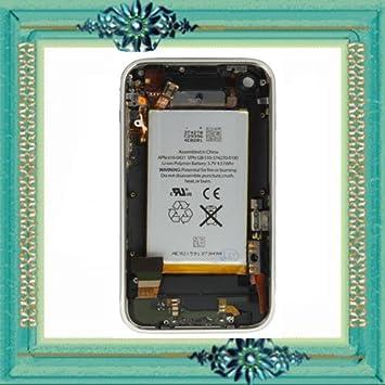 Coque arriere remplacement iphone 3GS 16GB NOIR: Amazon.fr: High-tech