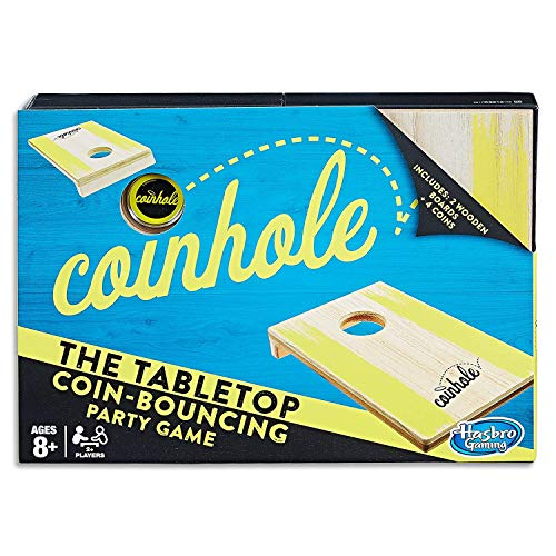 Coin Toss Game (Hasbro Gaming Coinhole Game)