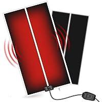 Reptile Heating Pad, Reptile Pet Heat Mat, Energy-efficient Glass Terrarium Heater, Tank Warmer, Under Tank Heater