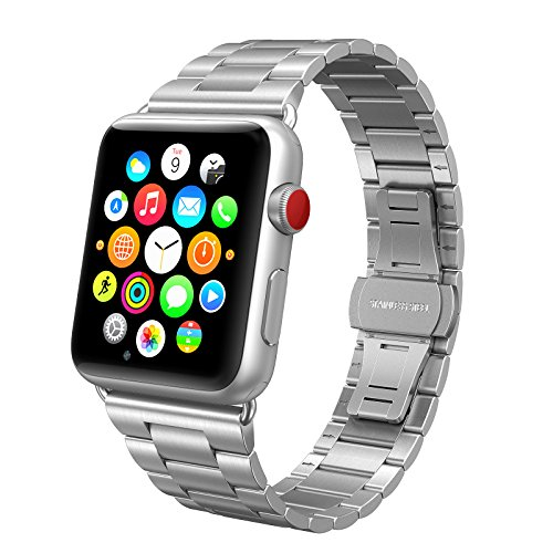 Stainless Swees iWatch Sports Silver