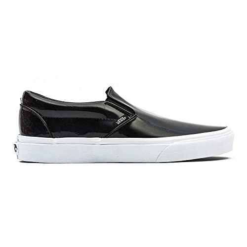 c5357182b49bf8 Vans U Classic Slip-On - Patent Leather Black (UK 4)  Amazon.co.uk  Shoes    Bags
