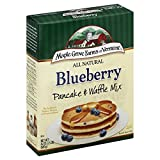 Maple Grove Farms Pancake Mix Blueberry, 24-Ounce (Pack of 6)