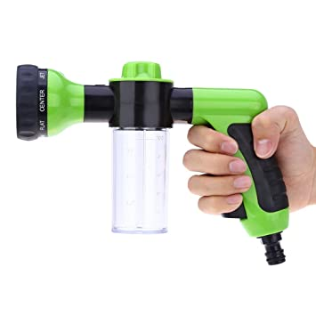AUTOLOVER Garden Hose Nozzle,Auto Water Sprayer Car High Pressure Nozzle  Spray Gun With Foam
