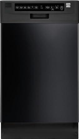 Kenmore 14669 - Lavavajillas (45,72 cm), color negro: Amazon.es ...