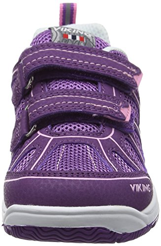 Viking Unisex-Kinder Hugin Low-Top Violett (Plum/Dark Pink 6239)
