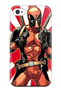 Perfect Deadpool Case Cover Skin For Iphone 4/4s Phone Case