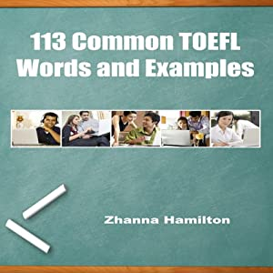 113 Common TOEFL Words and Examples Hörbuch