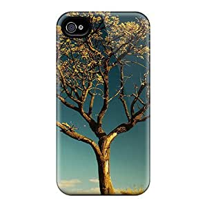Awesome Design Ageless Tree Hard Case Cover For Iphone 4/4s