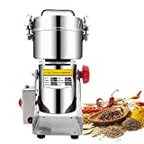 700G Swing Type Electric Grains Herbal Powder Miller Dry Food Grinder Machine High Speed Intelligent Spices Cereals Crusher,Eu Plug 220V