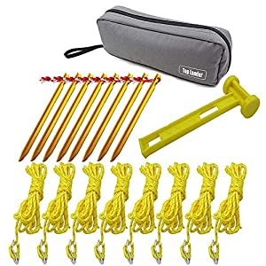 Fesjoy Outdoor Camping Tent Mallet,Lightweight Tent Stake Hammer Camping Canopy Pegs Hammer Tent Accessories