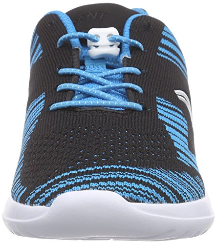Kids Niños Azul Zapatilla Clarks blue Baja Sprintknit Combi Jnr OgHfH