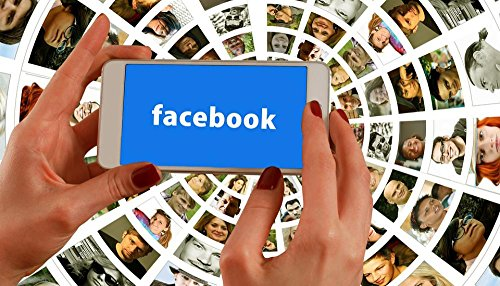 LAMINATED 42x24 Poster: Hands Smartphone Facebook Social Media Faces Photo Album Social Networks Media System Network News Personal Connection