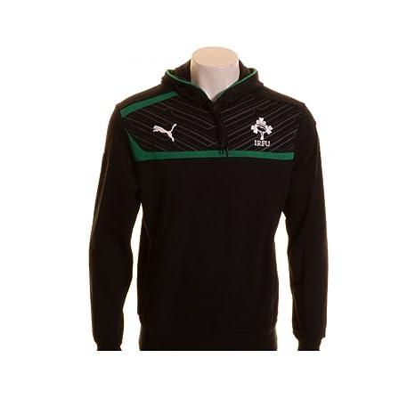 Irlanda IRFU jugadores Overhead augastes Rugby sudor negro/verde ...