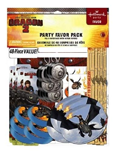 How to Train Your Dragon 2 - 48 Piece Party Favor Pack Party Supplies