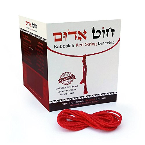 "Original 60"" Kabbalah Red String for up to 7 Bracelets for sale  Delivered anywhere in USA"