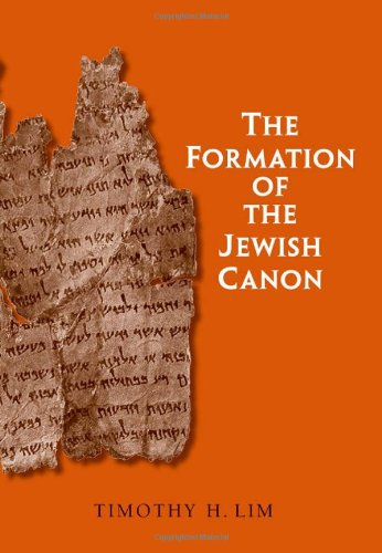 Book cover from The Formation of the Jewish Canon (The Anchor Yale Bible Reference Library) by Timothy H. Lim