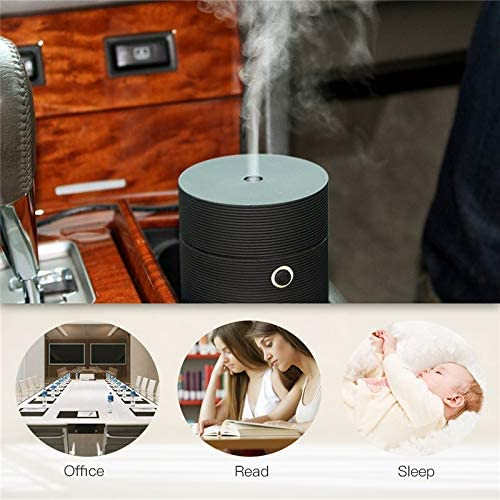 Argonv Mini Humidifier with USB, Cool Mist Humidifier Mini Personal Small Humidifier,Travel Car Humidifier for Home Office Baby Bedroom Portable Humidifier