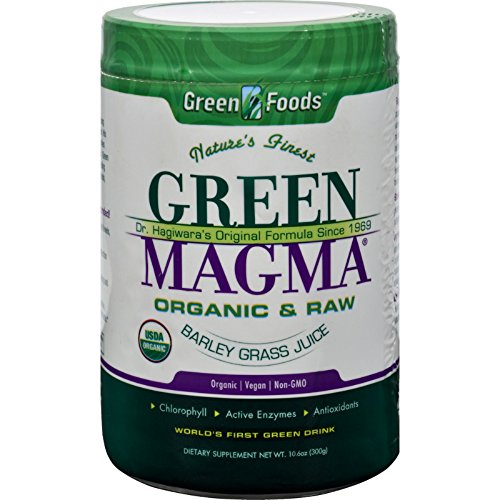 2Pack! Green Foods Dr Hagiwara Green Magma Barley Grass Juice Powder - 10.6 oz by Superfoods
