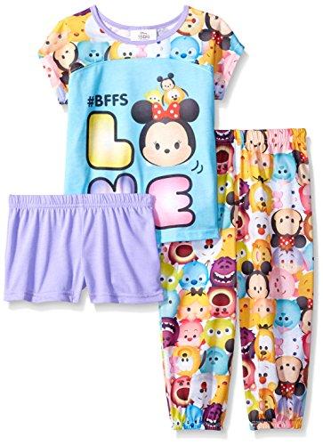Disney Girls Tsum 3 Piece Pajama