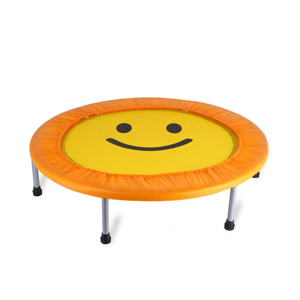 Yellow 50×10inch HANSHAN Garden Trampoline Trampoline,Folding Portable Trampoline Fitness Body Exercise For Adults Kids 3 color 3 Size