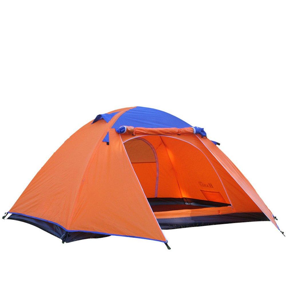 2人キャンプテント4シーズンダブルレイヤーアルミポール屋外テント/アウトドアスポーツのために組み立てる必要がある B07C1L25NM B07C1L25NM, ヨツカイドウシ:02bbfc66 --- ijpba.info