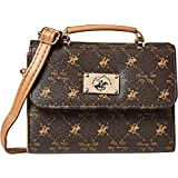Beverly Hills Polo Club Crossbody Bag for Women - Brown