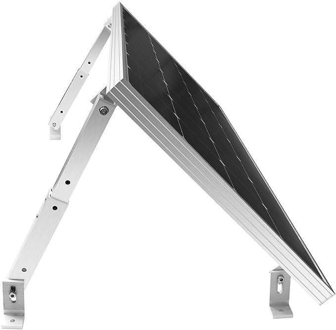 Solar Mount L-Bracket 6.1 inch with Hardware